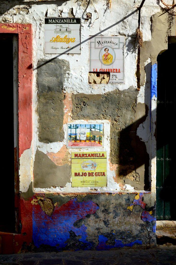 Lasse Persson - Wall in Sanlucar, Spain