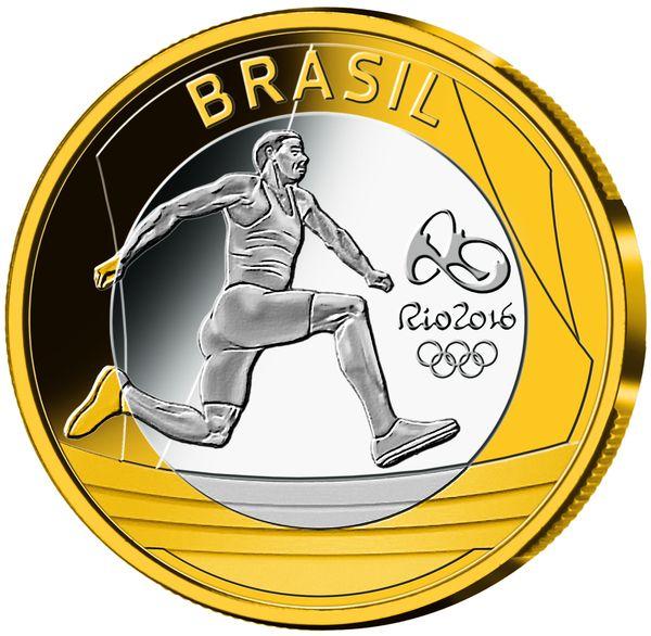 Olympic Games, Rio 2016, Series 1, Basemetal, 2014