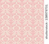 Vector damask seamless pattern background. Elegant luxury texture for wallpapers, backgrounds and page fill. by GarryKillian, via Shuttersto...