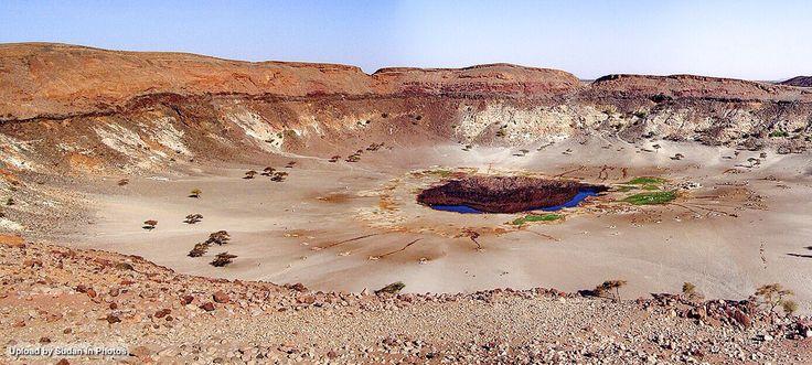 Meidob Volcanic Field Darfur Area 5000 Sq Km حقل ميدوب البركاني دارفور مساحة ٥ كم مربع By Aussenlander Sudan Photo Original Artwork The Creator