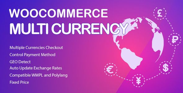 WooCommerce Multi Currency - Currency Switcher | Best
