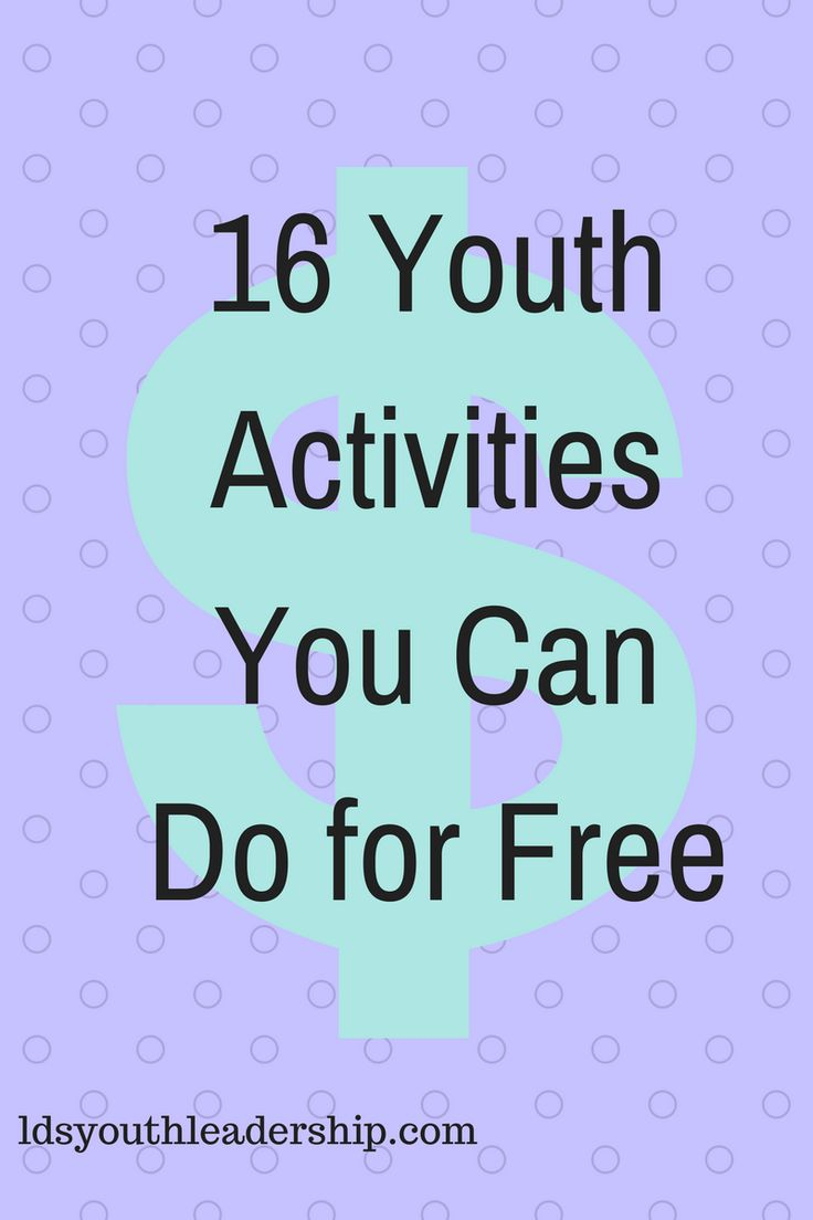 "Do you have a small budget? Are you already running out of money for activities? The good news is that there are many activities that can be done for free. I asked some other young women leaders to share some of their favorite free activities! Here's what they told me. ""I always loved it when…"