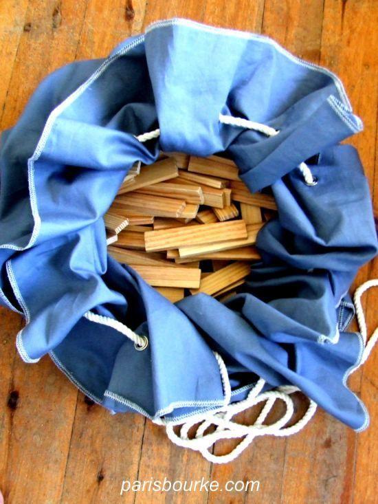 tapis de jeu/ sac à jouets (tutoriel gratuit - DIY) - DIY, Tutoriels