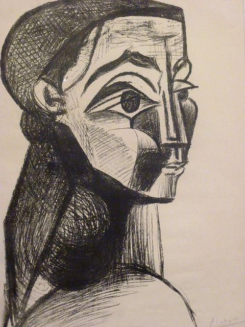 Picasso's Portrait of a Woman (Jacqueline Roque)