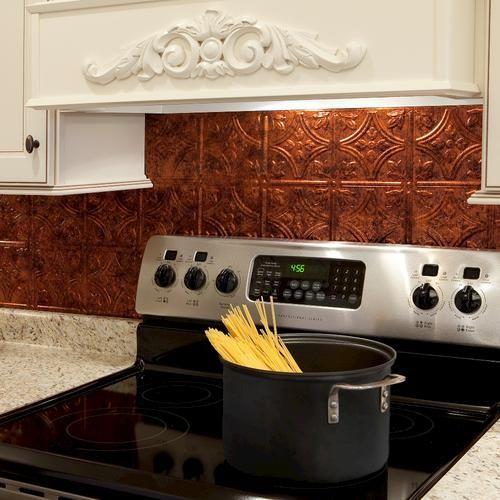 Fasade Traditional 1 18 X 24 Pvc Backsplash Panel At Menards Rooms Pinterest