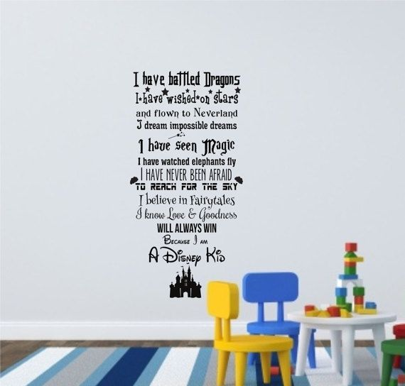 Best  Disney Wall Decals Ideas On Pinterest Disney Sayings - Somewhat about wall stickers