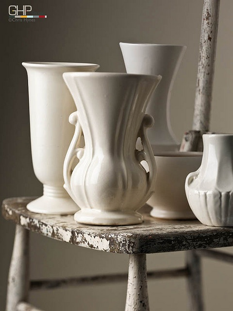 McCoy pottery vases, amazin! I've owned every single one of these vases at one point or another.  still have some in my storage unit.