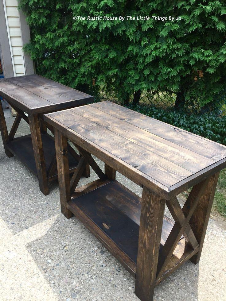Krystal Side Tables