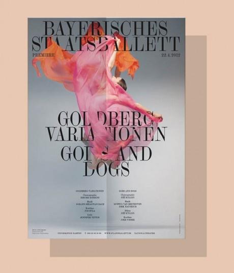 poster, Bayerische Staatsballett