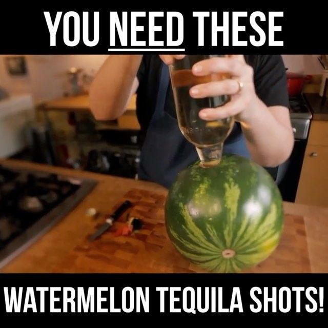"""1,529 Likes, 82 Comments - Food Network (@foodnetwork) on Instagram: """"These Watermelon Tequila Shots will make your weekend 100x better!❗🍉❗ See more like this by swiping…"""""""