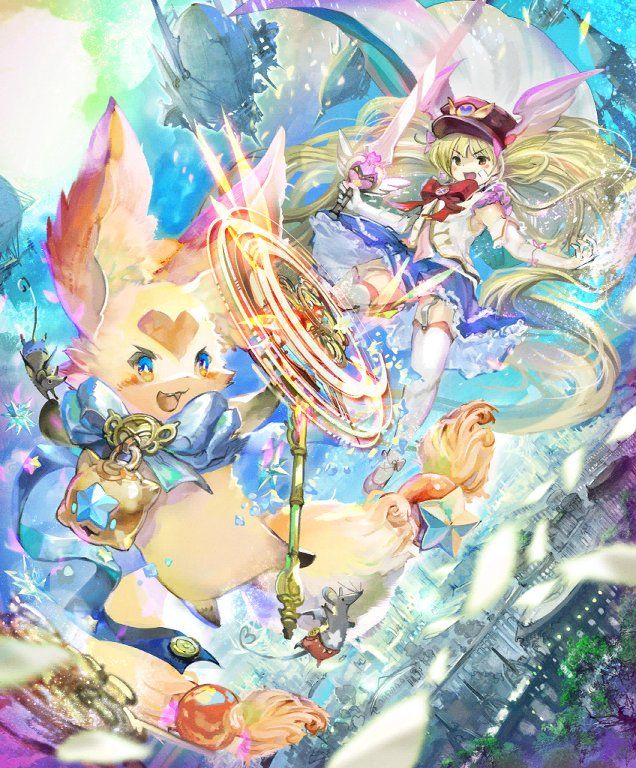 Card Morra Monika S Familiar Anime Magical Girl Magical