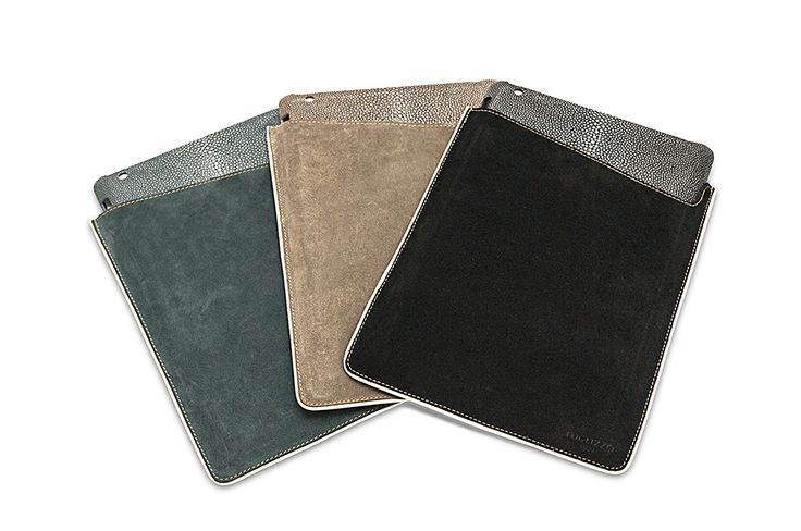 iPad Hard and Soft Cover  Shagreen and Leather #FoglizzoLeather #leather