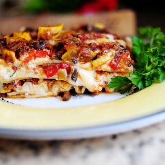 I'm sure everyone has his own favorite go-to lasagna recipe, but I'd just like to offer that this really is The Best Lasagna Ever. Part of its appeal is that the ingredients used are to…
