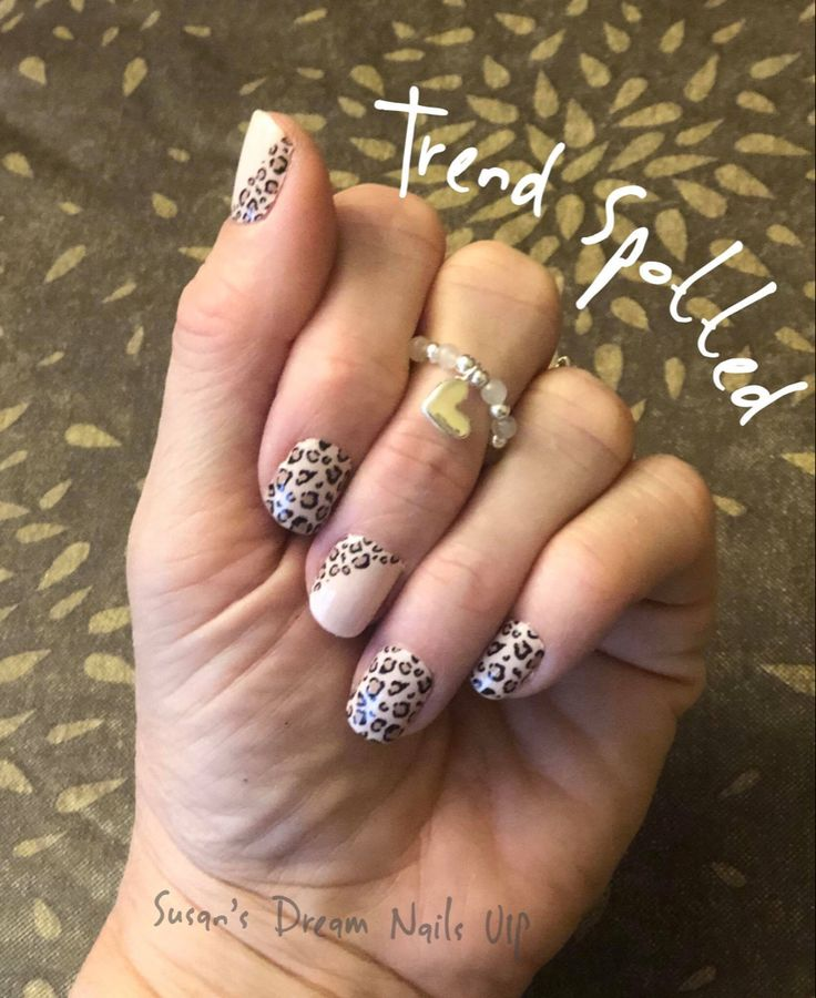 Leopard Nail Art Manicure! This Is Trend Spotted From The