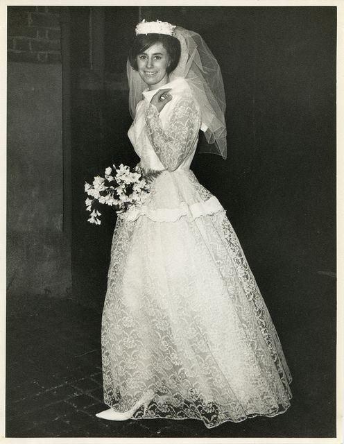 1960s bride by TempusVolat, via Flickr