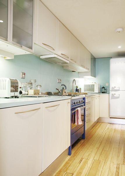 Torie Jayne: Kitchen highlight - duck egg blue
