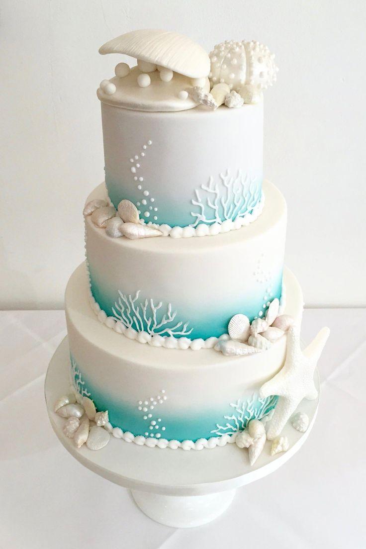 Strandhochzeitstorte – Lieblingstorten #SummerWeddingCake   – Wedding cakes
