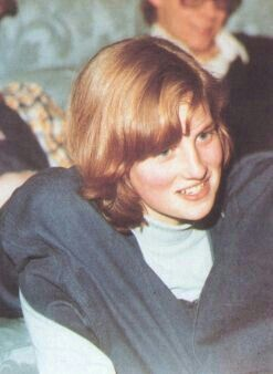 Young teenaged Lady Diana Spencer