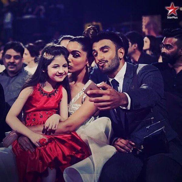 Deep ♥ and Ranveer Singh #HarshaaliMalhotra #ScreenAwards ❤️❤️