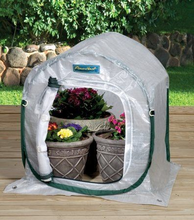 Flowerhouse PlantHouse 3 L x W x H Pop-Up Greenhouse at Loweu0027s. The portable 3 ft. x 3 ft. PlantHouse shelter is floorless so you can simply set it right on ... & 29 best Pop-Up Greenhouses for Tomatoes images on Pinterest ...