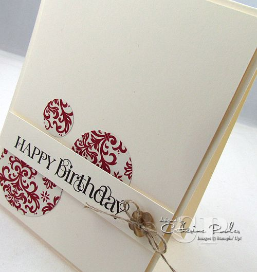 Simple Cards to Make, Masculine Card, Stampin' UP
