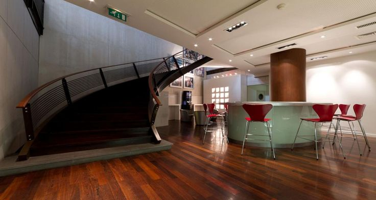 Collaborative area into the premises of Coty in Paris, France