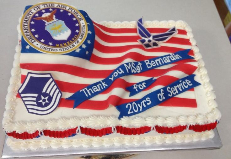 1000 images about ideas for anthony 39 s retirement party on for Air force cakes decoration