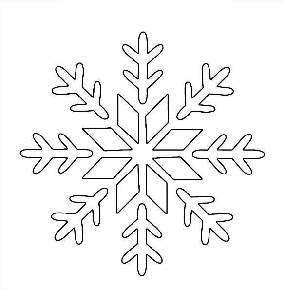 Stencil Templates | Cards | Snowflake stencil, Christmas ...
