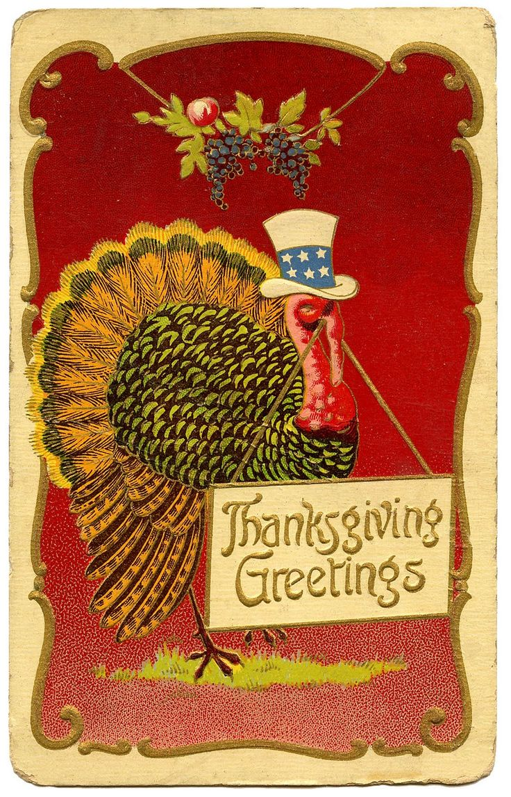note the Uncle Sam hat...many vintage Thanksgiving postcards had a patriotic themeVintage Postcards, Happy Thanksgiving, Thanksgiving Blessed, Thanksgiving Postcards, Thanksgiving Cards, Thanksgiving Vintage, Vintage Thanksgiving, Happy Holiday, Vintage Cards