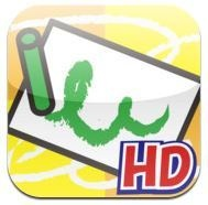 Let's Tracing app provides visual motor practice to support pre-writing skills.