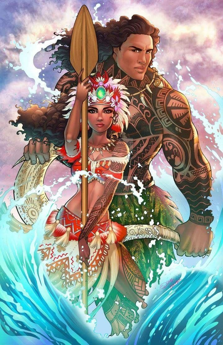 Dang This Is Good Fanart Disney Pinterest Moana Disney Art