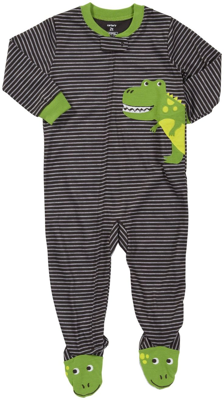 Carter's 1-Pc L/S Footed Sleeper - Free Shipping