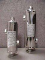 AIC Shell and Tube Heat Exchanger 130,000 btu - 3/4 inch NPT Tube connection - 1-1/2 inch NPT Shell connection - B-130