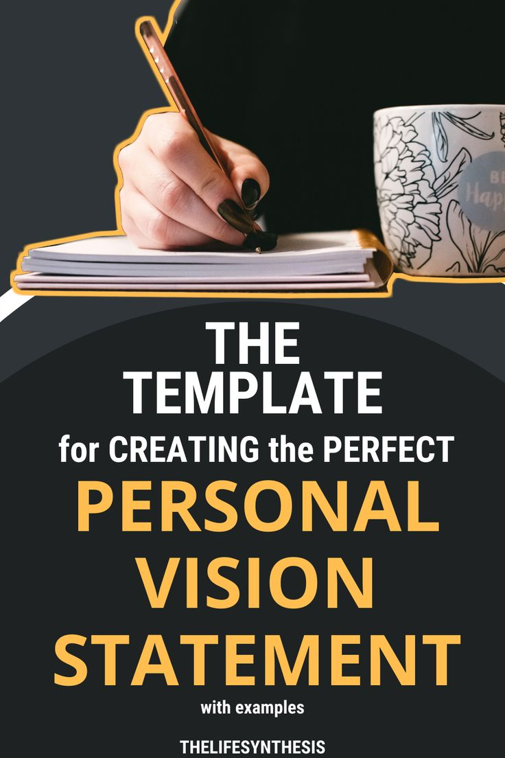 personal vision statement examples in 2020