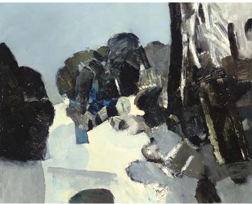 Keith Vaughan, Snow on Hampstead Heath
