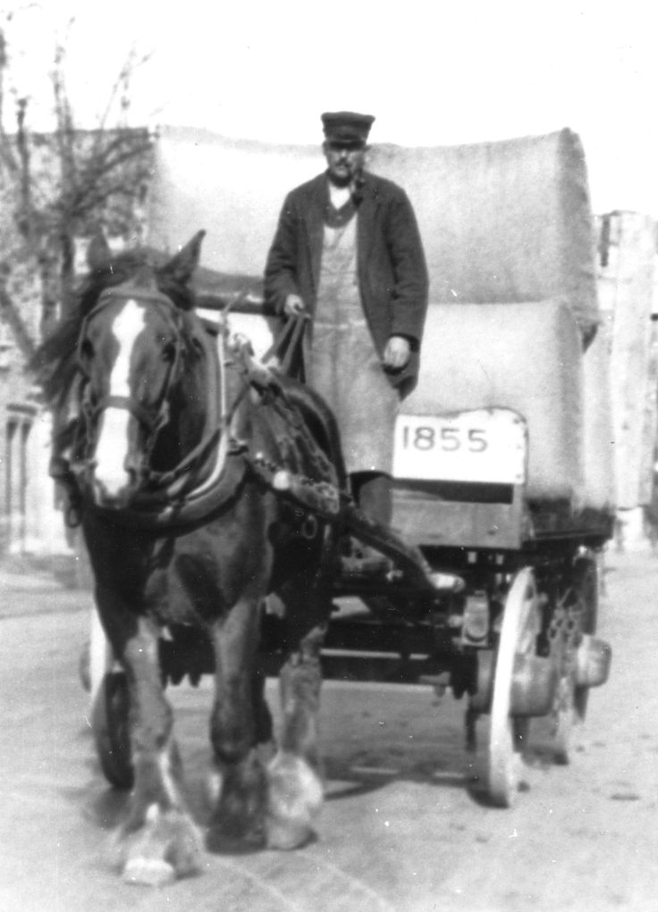 The Blue Boar in Witney served the town as a principal coaching inn for many decades. Ok, so this isn't one of the coaches but it is one of the local farmers transporting shay from the fertile fields alongside the River Windrush. Image supplied by Witney & District Museum