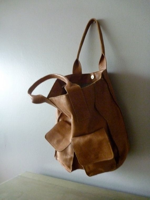Reserved Brown Paper Lunch Bag tanned vintage door AbbyinFrance