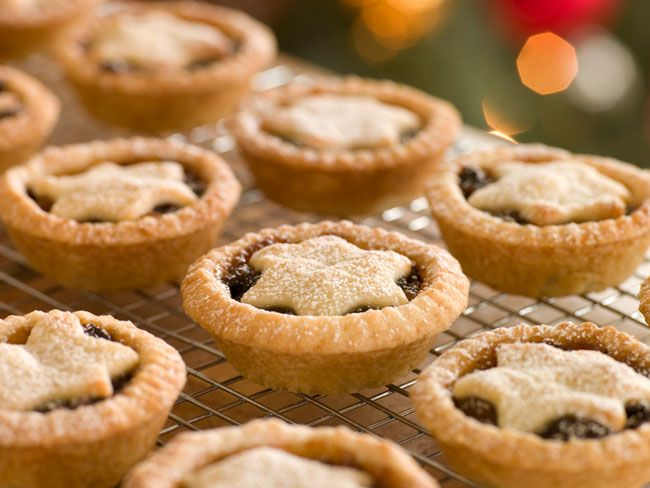 A delicious taste of Christmas, a traditional Irish mince pie ...