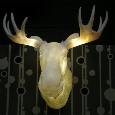 Moose Head Wall Sconce I Need Dis The O Jays And Lighting