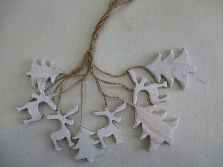 Bosje kerst ornamentjes