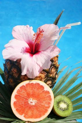 Tropical Cocktail by JuliaRosien   Island Cocktail Inspiration