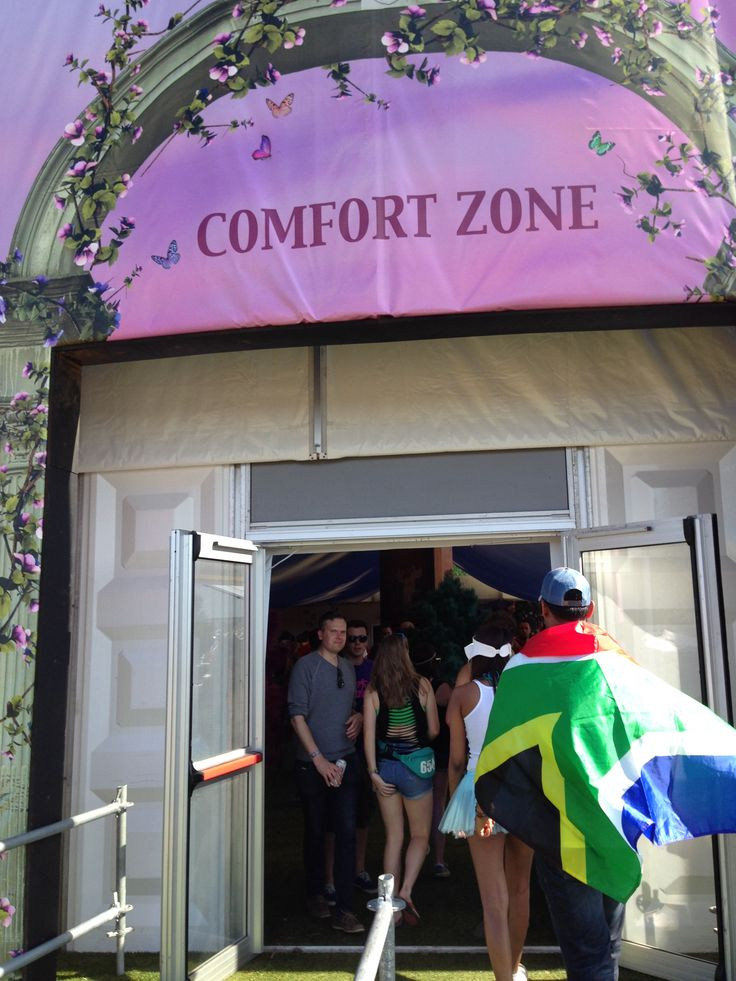 Comfort Zone - South African Flag - TomorrowWorld