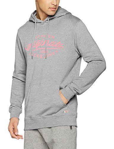 JACK & JONES Jorfinish Sweat Hood, Capucha para Hombre, Gris (Light Grey Melange), Large #JACK #JONES #Jorfinish #Sweat #Hood, #Capucha #para #Hombre, #Gris #(Light #Grey #Melange), #Large