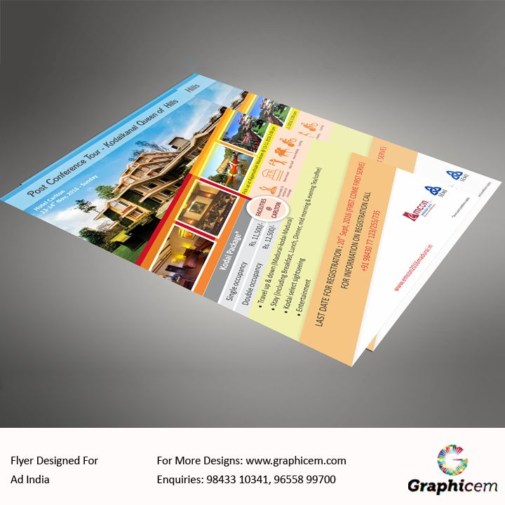 Flyer designed For Ad India