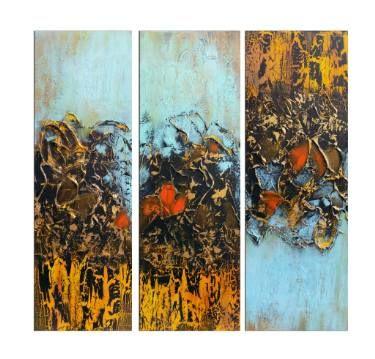 "Saatchi Art Artist Areti Ampi; Painting, ""Wild flower"" #art"