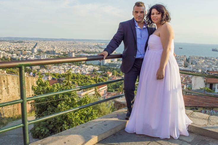 Great couple, dreamy town! #wedding #photography #skg #thessaloniki