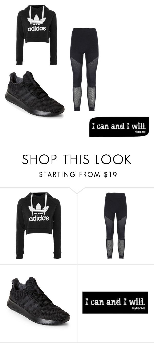"""""""work-out"""" by amariiae on Polyvore featuring adidas"""