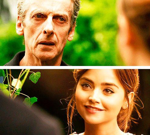 Doktor: Neden hepimizi buraya getirdin? Clara: Çünkü seni TARDIS'e getirmenin tek yolu, birilerini kurtardığını düşünmendi. Fakat biliyor musun, Doktor? Bu sefer insan ırkı seni kurtarıyor. Buna değsin.