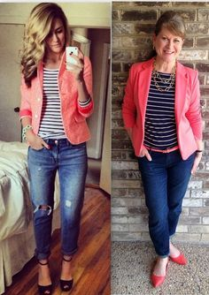 40 Real Women Outfits (No Models) to Try This Year | http://www.stylishwife.com/2015/05/real-women-outfits-no-models-to-try-this-year.html