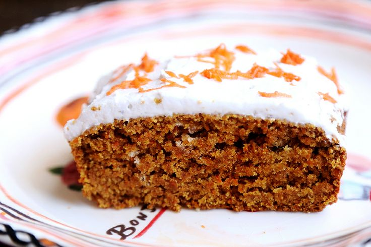 Spelt Carrot Cake with Coconut Cream Frosting